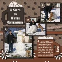 Four Steps to Winter Contentment