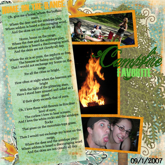Home on the Range {Digi CT Lyrics Reveal 12/21}