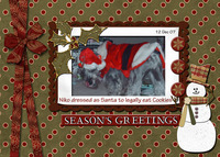 Christmas Card by me and dh