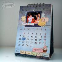 My Mini Crafty Calendar (close up 1)