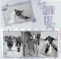 Snow Day - Making Snowmen
