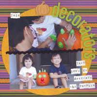 (pumpkin) decorators