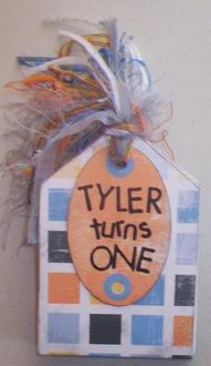 *Tag Book* Tyler Turns One