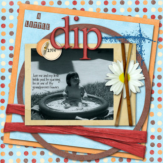 A Little Dip {CT Reveal}