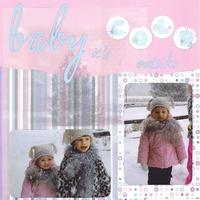 Baby it's cold outside--week 4 word challenge