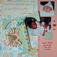 T is for Taylar  **JAN Monogram Challenge**