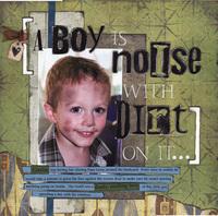 A Boy is a Noise...