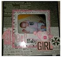 Sweet Baby Girl 6 monhts old!