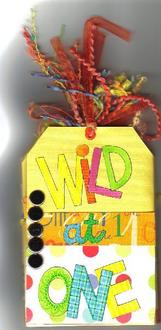 """Super Star #4--""""Wild at One"""" Tag Book"""