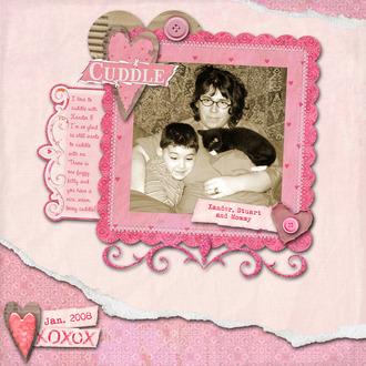 Cuddle {LOVE Reveal}