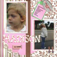 Madison  Linda1's grandaughter