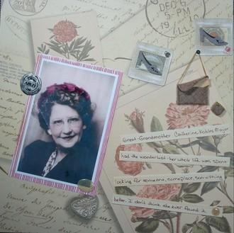 Feb Heritage Photos Chlg - Great Grandmother