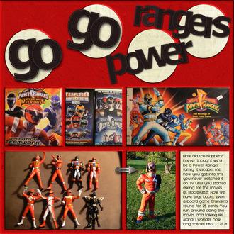 Go Go Power Rangers {CT Reveal}
