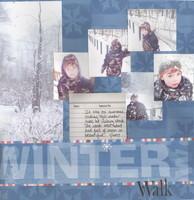 Winter Walk -- Cha Challenge 3