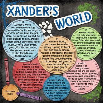 Xander's World
