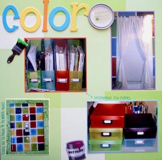 Color Splash Room Remodel
