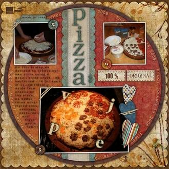Pizza:  100% Original