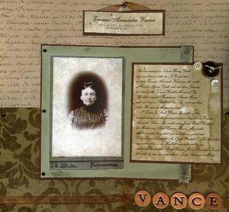 Emmie Arminda Vance