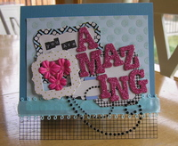 Making Memories Sophia-You Are Amazing Card
