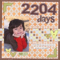 2204 Days   ***CT Scraplift Reveal***