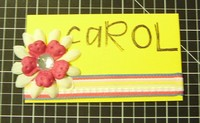 Carol Gomes Calling Card