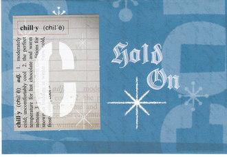 winter color card -- fast scrap 11
