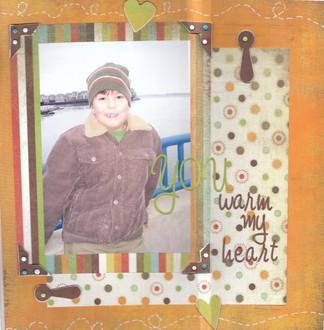 You warm my heart -- crop challenge 12