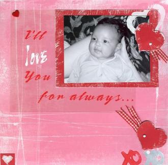 I'll love you for always-Jan Challenge