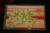 Cassidy's birthday card