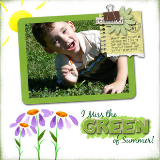 Green of Summer {CT Reveal}