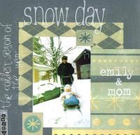 "Word Challenge 2 (Winter)--""Snow Day"""