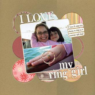 I love my ring girl
