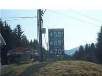 Gas prices in Wrangell, Alaska