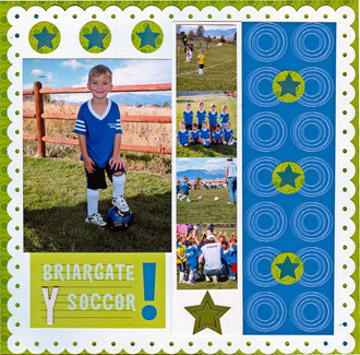 "Briargate ""Y"" Soccer **Challenge #   **"