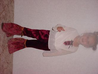 Hippie Diva costume
