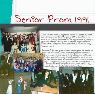 Senior Prom 1991 {CT Reveal}