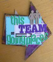 Crystal Clear Arrow Mini--for my Team