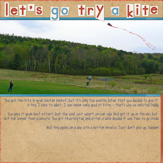 Let's Go Try A Kite