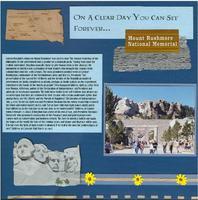 Mt Rushmore - Maggi's Blue Challenge