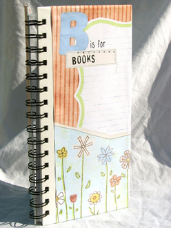 B Is For Books Notebook