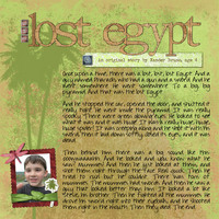 The Lost Egypt