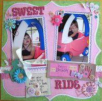 Sweet Ride - Scraplift of Bernadette