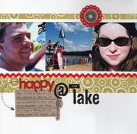 Happy @ the Lake
