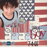 All American Boy ***Creative Imaginations: Patriotic CT Reveal***