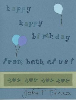 Birthday Card - wishes