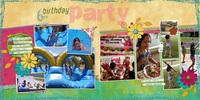 Birthday Party {digi CT reveal}