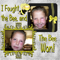 I fought the bee