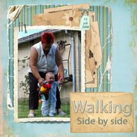 Walking side by side
