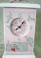 Altered Scraproom Clock