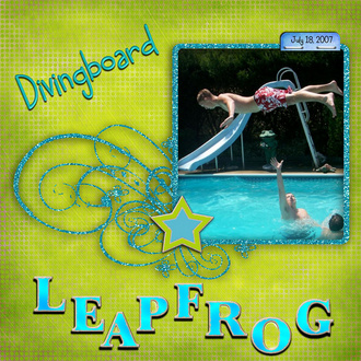 Diving Board Leap Frog